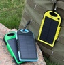 Водонепроницаемый Solar Power Bank с солнечной батареей 5000 mAh